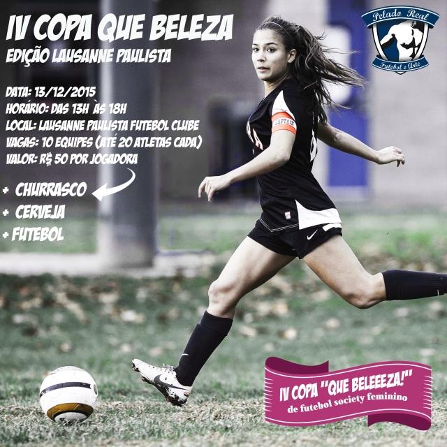 Flyer IV Copa Que Beleza